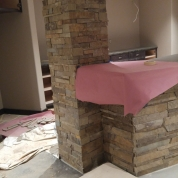 bar stonework milwaukee, custom stone bar milwaukee, vortex restoration