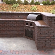 outdoor fireplace kenosha, built-in grill kenosha, outdoor kitchen kenosha, vortex restoration