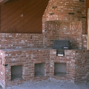brick enclosed grill racine, grill masonry racine, outdoor fireplace racine, vortex restoration