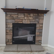 new fireplace, kenosha