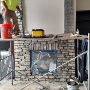 build fireplace, fireplace masonry