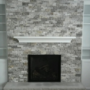 ornate fireplace, stone fireplace