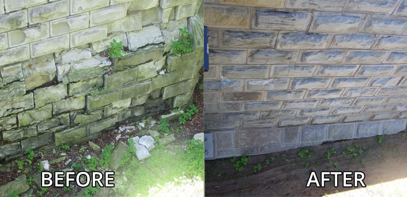 fireplace restoration, brick restoration