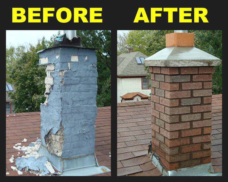 West Bend brick chimney, chimney repair West Bend, chimney falling apart West Bend